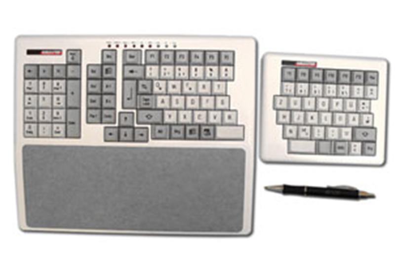 2 geteilte Tastatur Typ Zeus links
