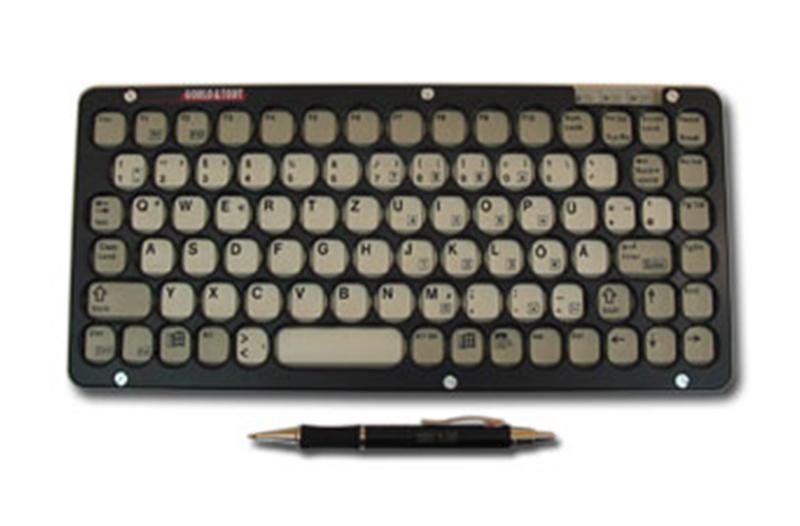 Cherry Tastatur mit schwarzer Abdeckplatte