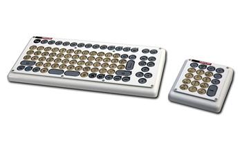 compacttastatur rechts mit externem zahlenfeld