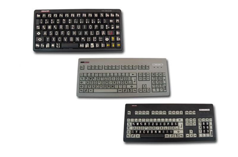 Tastaturen für Sehbehinderte